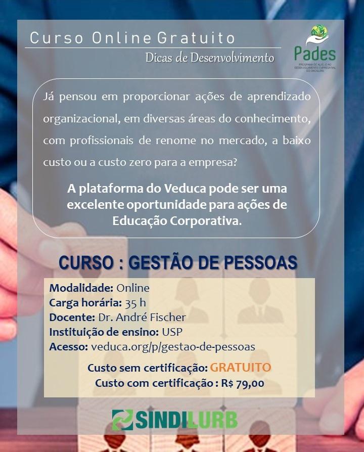 aa73dabbefdd33 Curso Online Gratuito : Gestão de Pessoas / Prof. Dr. André Fischer ...